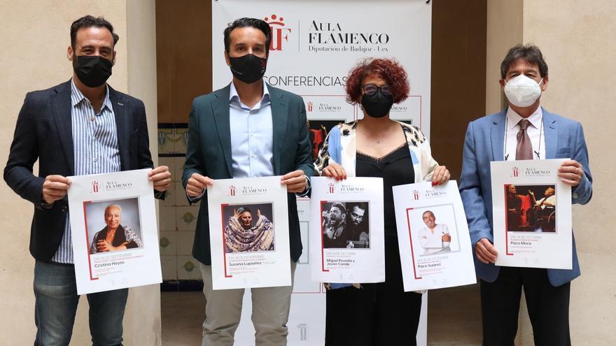 Un aula que ilustra el flamenco