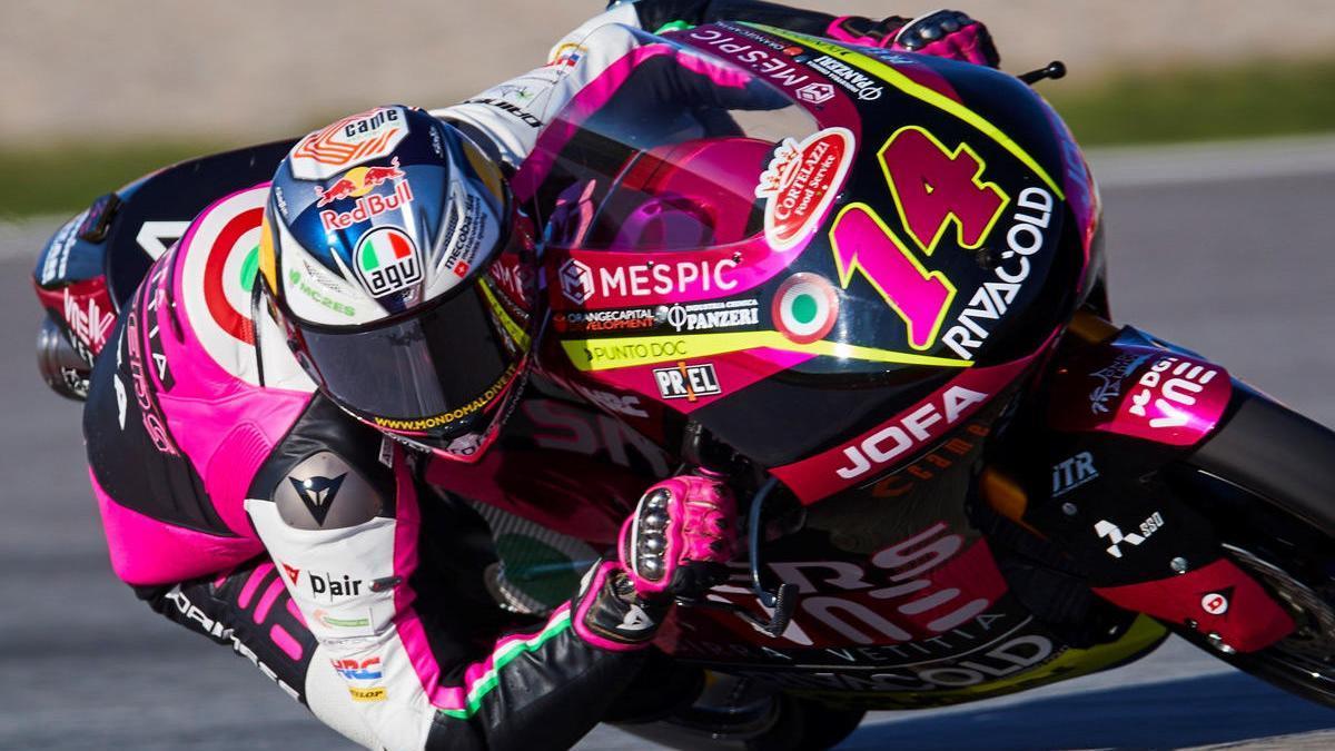 Arbolino en el circuito de Montmeló.
