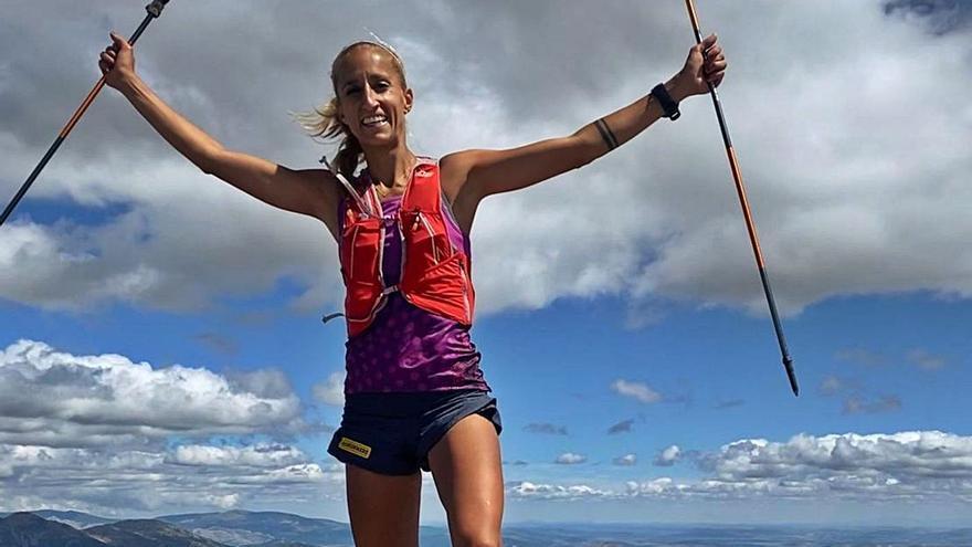 Patri Muñoz bate un nuevo récord en la montaña