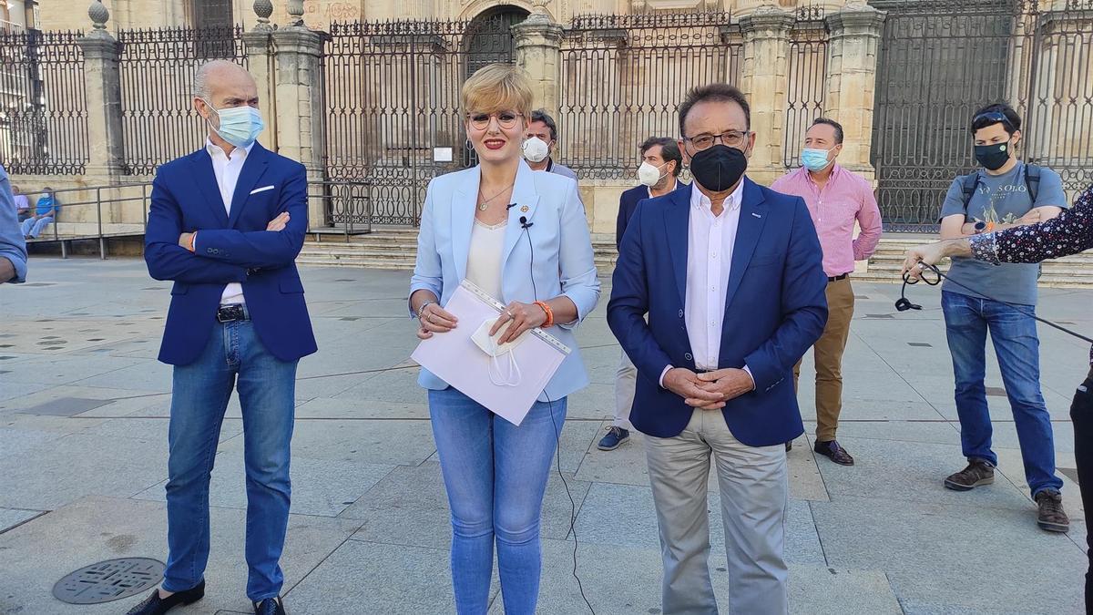 Francisco Díaz, María Cantos y Miguel Castro