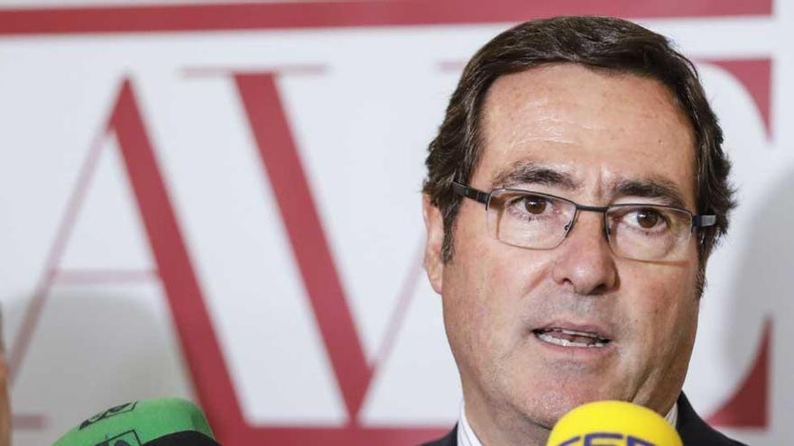 El presidente de la CEOE, Anotnio Garamendi.