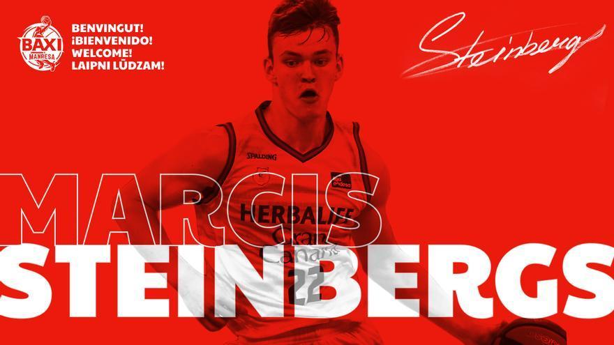 Marcis Steinbergs, nou fitxatge del Baxi Manresa