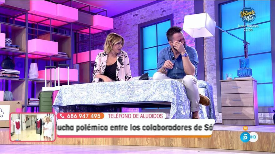 """José Antonio Avilés se rompe en directo en Viva la Vida y llora desconsolado: """"Nunca pensé que me pasara esto"""""""