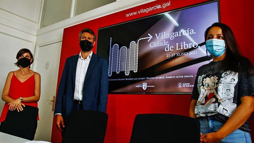 """Ildefonso Falcones, María Oruña, Nacho Carretero o Domingo Villar, en """"Vilagarcía, Cidade de Libro"""""""