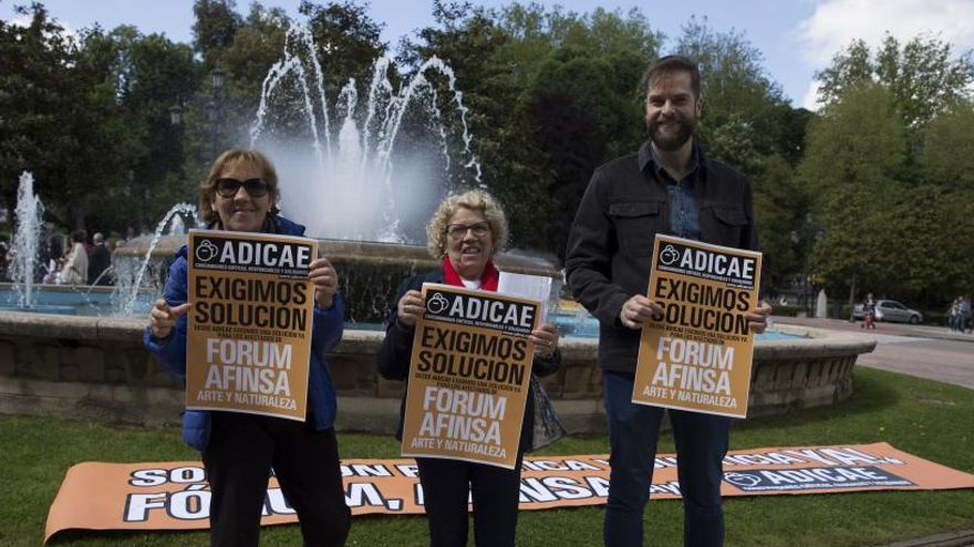 Los afectados asturianos de Forum y Afinsa claman por su dinero 13 años después