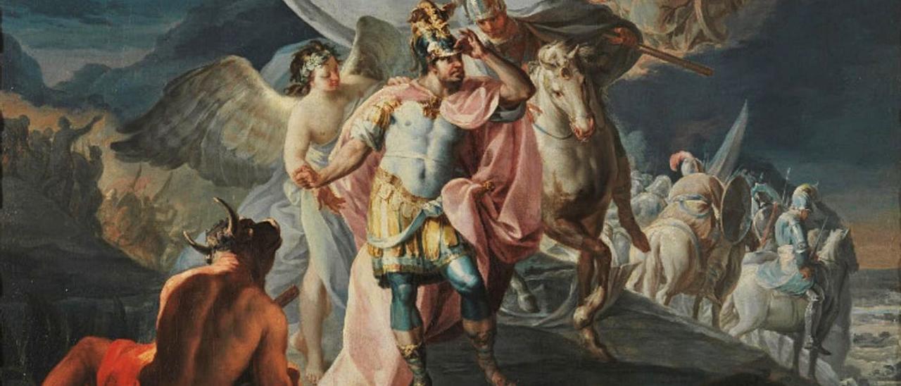 """El """"Aníbal vencedor"""" de Goya procedente de la colección Selgas y que ahora posee el Prado."""