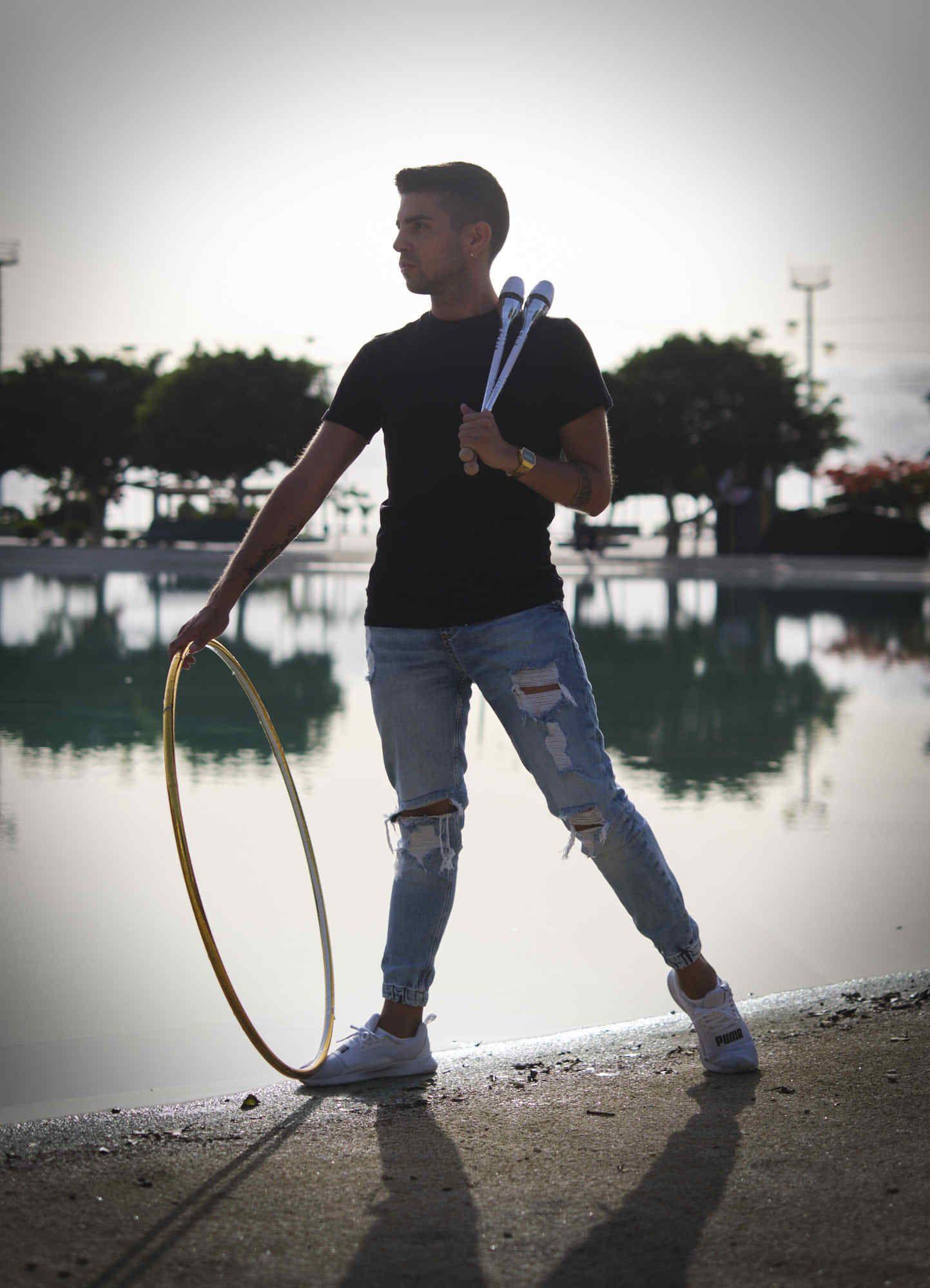 Cristofer Benítez, el gimnasta tinerfeño víctima de un ataque sexiste