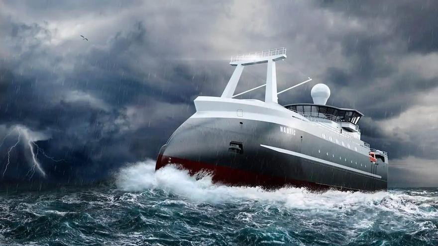 """El """"gigante"""" ruso Norebo, cliente de la viguesa Naust, encarga cuatro buques"""