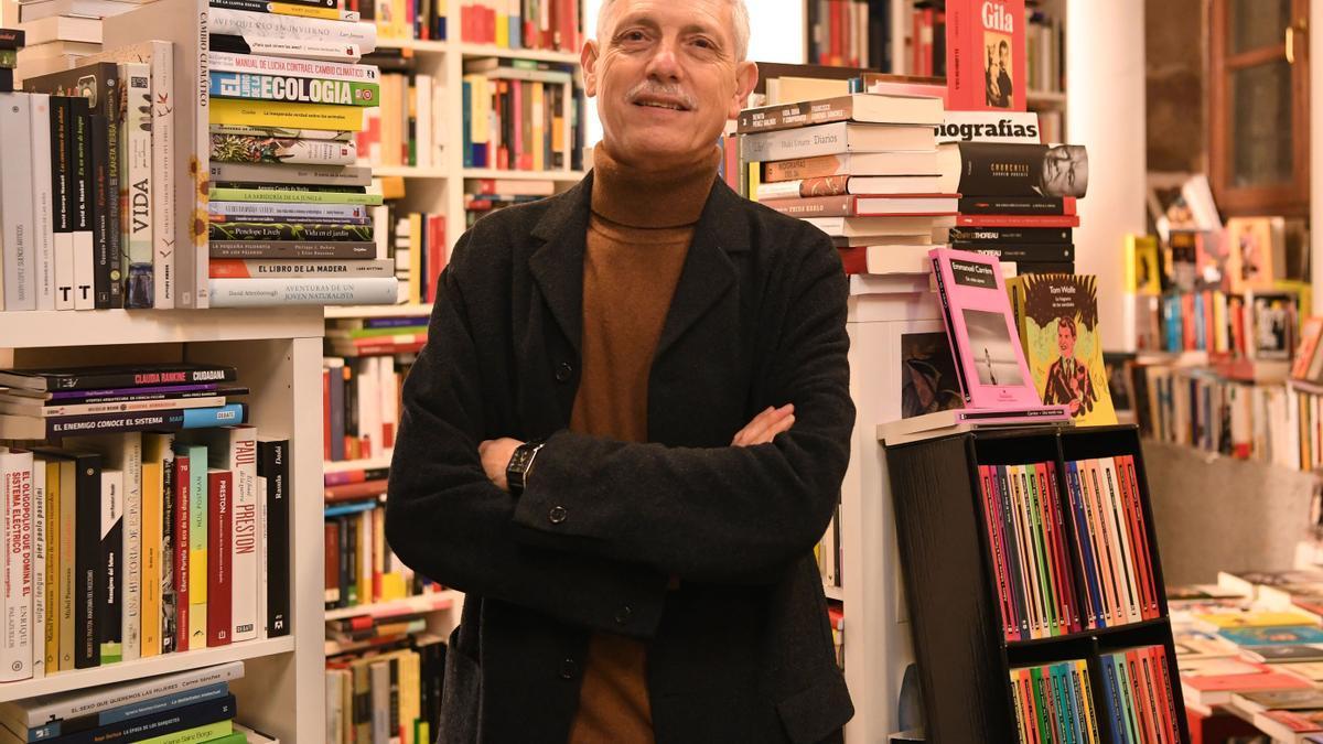 El escritor y profesor Bieito Alonso