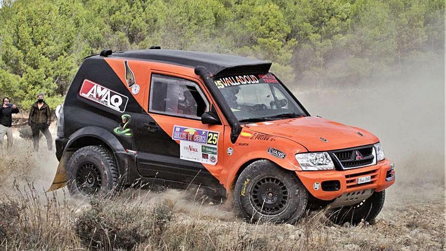 Jorge Pulido, quinto en el Rally de Cuenca