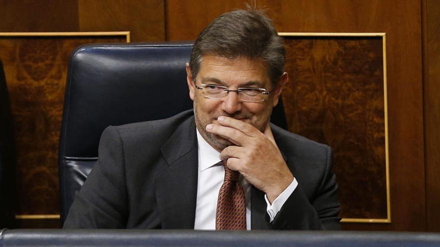 El ple del Congrés reprova Catalá, Maza i Moix