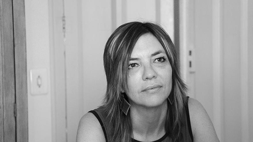 Laura Rojas-Marcos, Adolfo García Ortega, Gustavo Martín Garzo y Laura Llevadot, en La Térmica esta semana