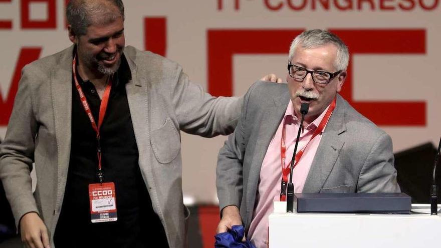 """El nuevo líder de CCOO promete un sindicato """"más a la ofensiva"""""""