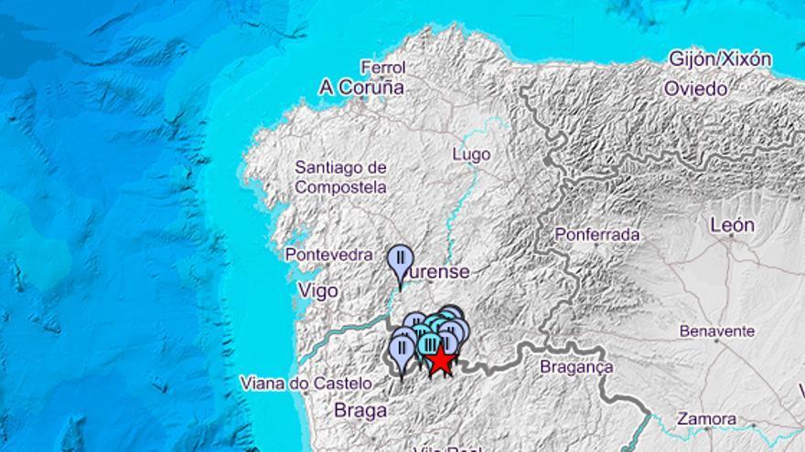 Galicia vive el mayor terremoto de los últimos meses