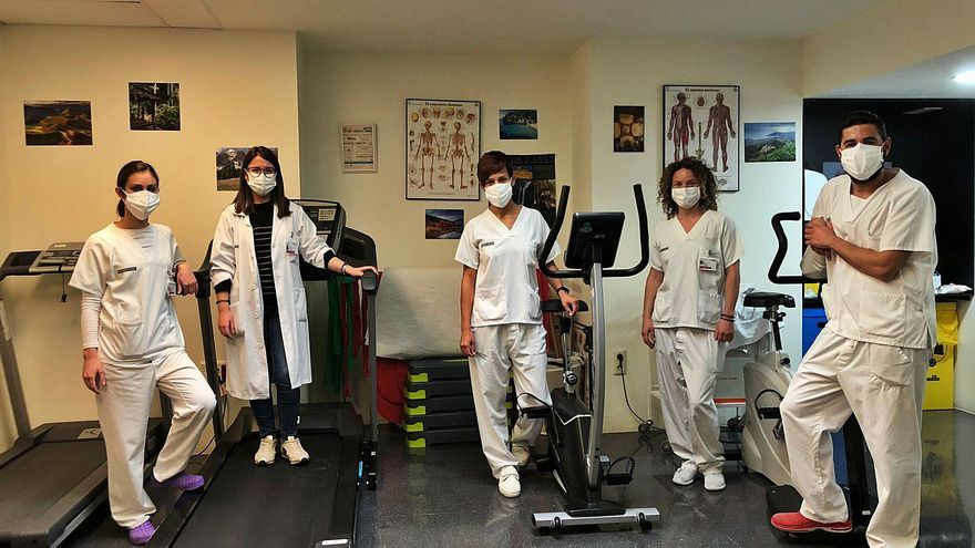 Sanidad refuerza los hospitales con fisioterapeutas para tratar las secuelas tras el coronavirus