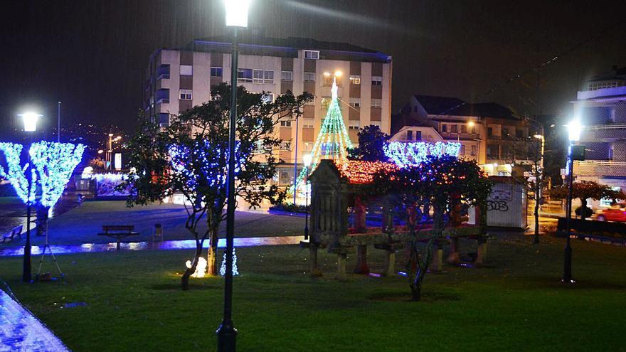 Espíritu navideño en Moaña