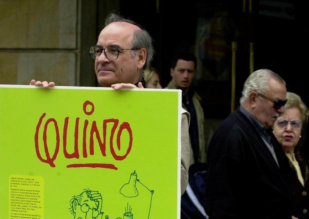 La vida de Quino, en imágenes