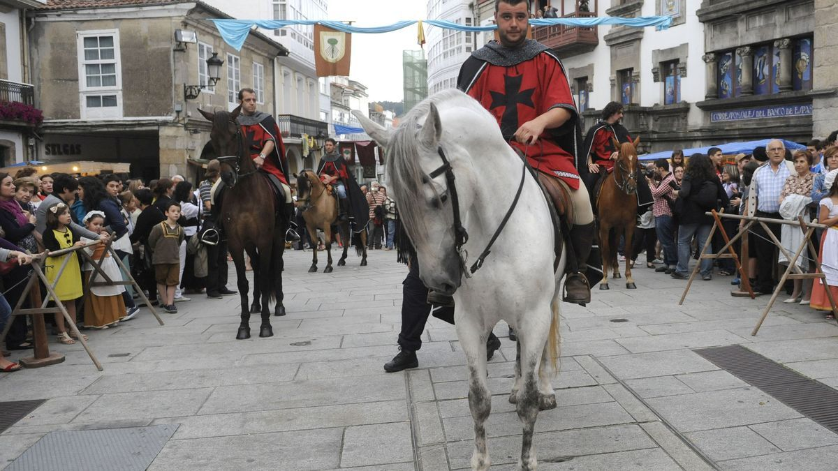 Apertura de la feria medieval de Betanzos