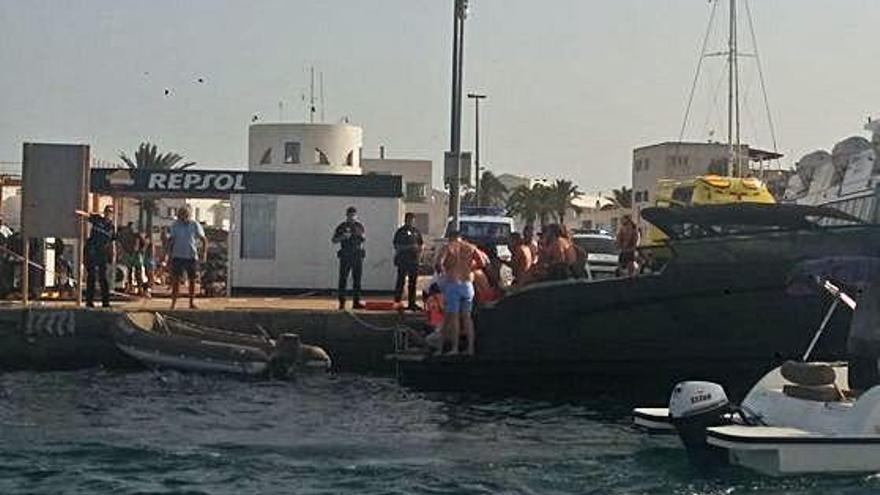 La Guardia Civil reconstruye la muerte del bañista arrollado por una lancha en Formentera