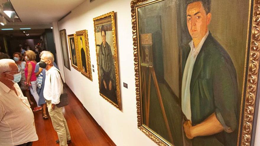 El Mubag inaugura les exposicions d'Emilio Varela i Didier Petit