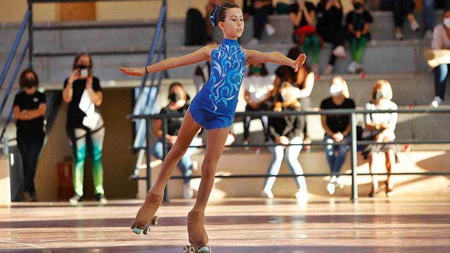 Trofeo de patinaje artístico en Faura