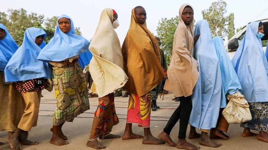 Alliberen les 279 alumnes segrestades en un col·legi de Nigèria