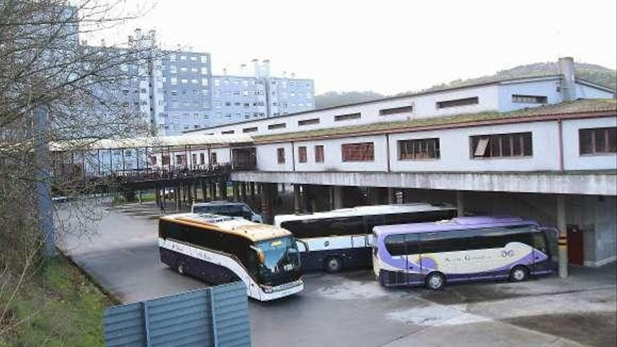 La Xunta aprueba el proyecto de demolición de la actual estación de autobuses de O Pino