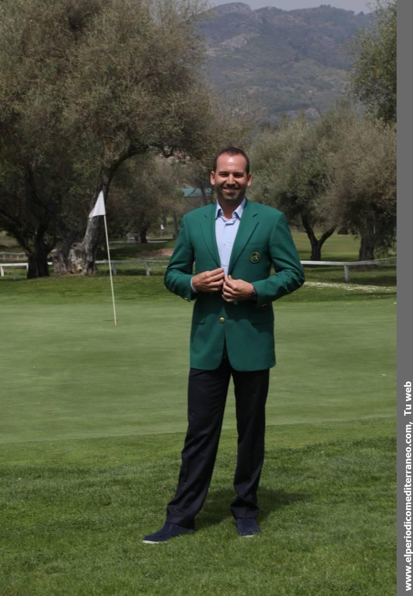 Homenaje a Sergio García