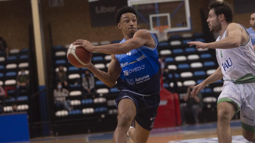 El Liberbank Oviedo Baloncesto va en cohete: gana 91-77 al Castelló y se consolida en la zona del play-off de ascenso a la ACB