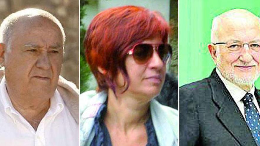 Amancio Ortega, su hija Sandra y Juan Roig encabezan la lista 'Forbes' en España