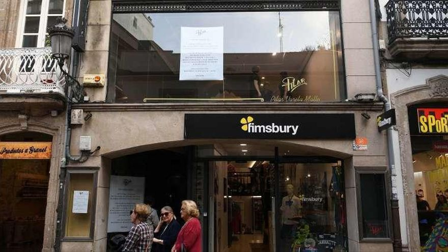 Un referente de la moda dice adiós a la calle Real