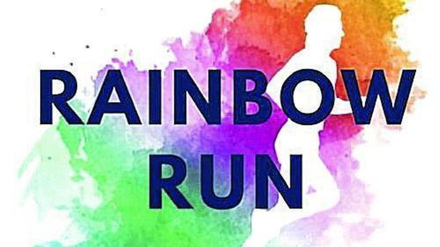 El tejido empresarial aragonés se vuelca con la Rainbow Run