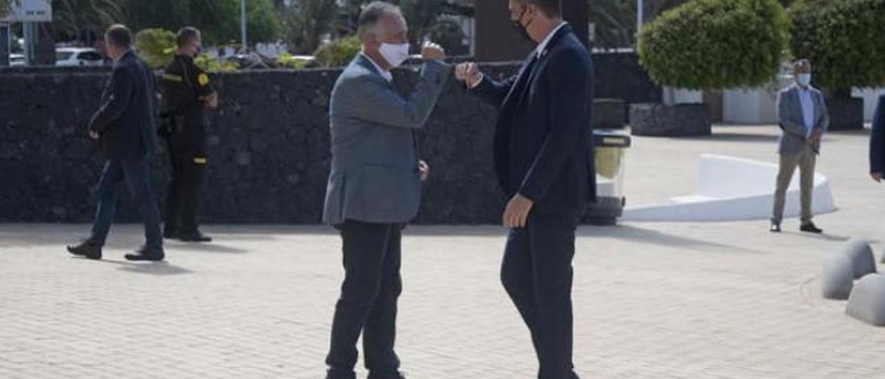 CC OO y UGT apoyan el frente común para la defensa de las Islas ante Madrid