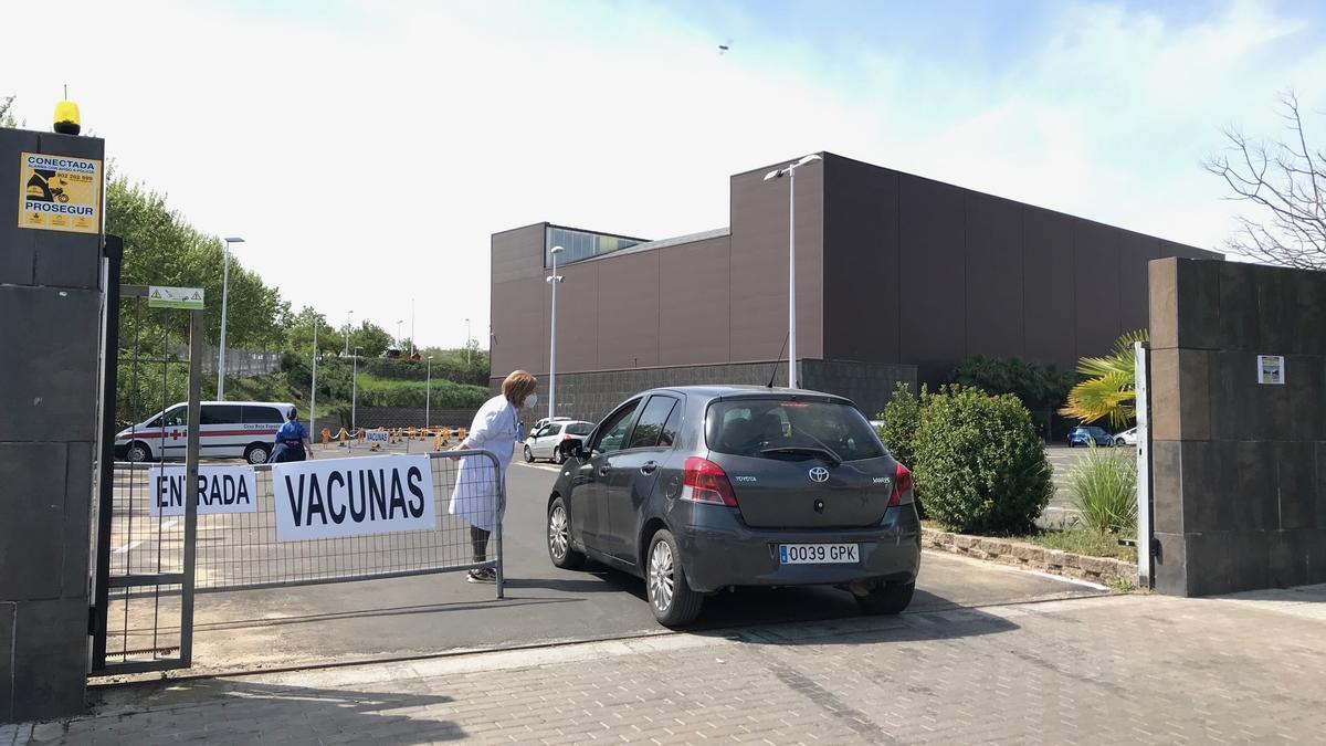 El recinto de Ifeme está habilitado para vacunar contra el coronavirus.