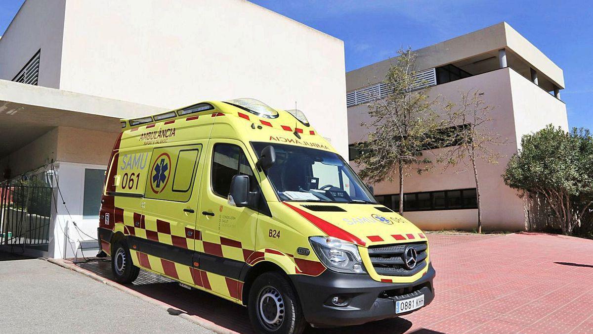 Ambulancia de soporte vital básico en Santa Eulària.