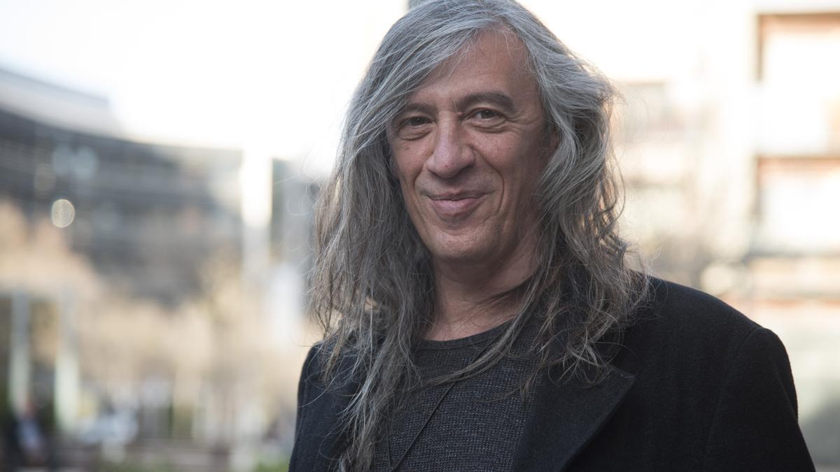 Gerad Quintana abans de la presentació de la novel·la a Manresa el passat mes de març