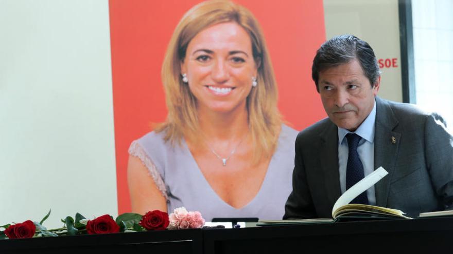"""""""Ha sido un golpe seco, helado"""", declara Javier Fernández por la muerte de Chacón"""