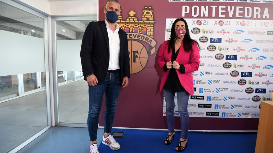 Javi Rey, Pablo Cacharrón y Samu  Santos, nuevos jugadores del Pontevedra CF