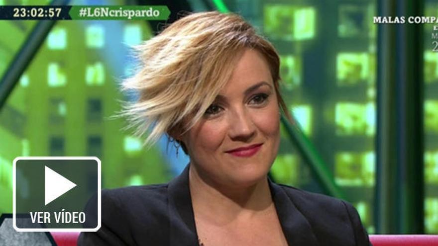 """Cristina Pardo saca a la luz su lado más """"choni"""""""
