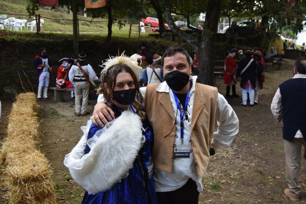 Redondela celebra su fiesta histórica marcada por las estrictas medidas de seguridad debido a la pandemia.