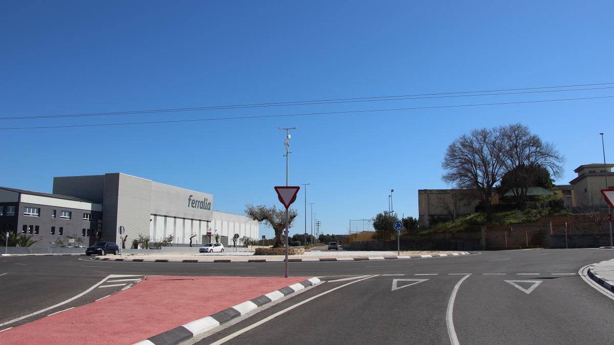 Polígono industrial del municipio valenciano de Picassent.