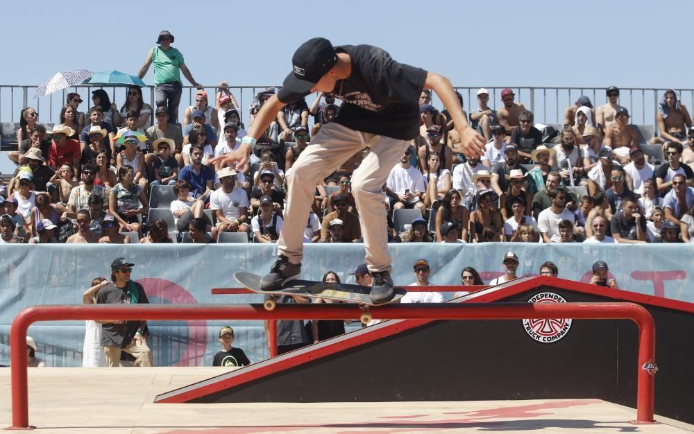 Los ''skaters'' dieron lo mejor de sí mismos en las semifinales de O Marisquiño.
