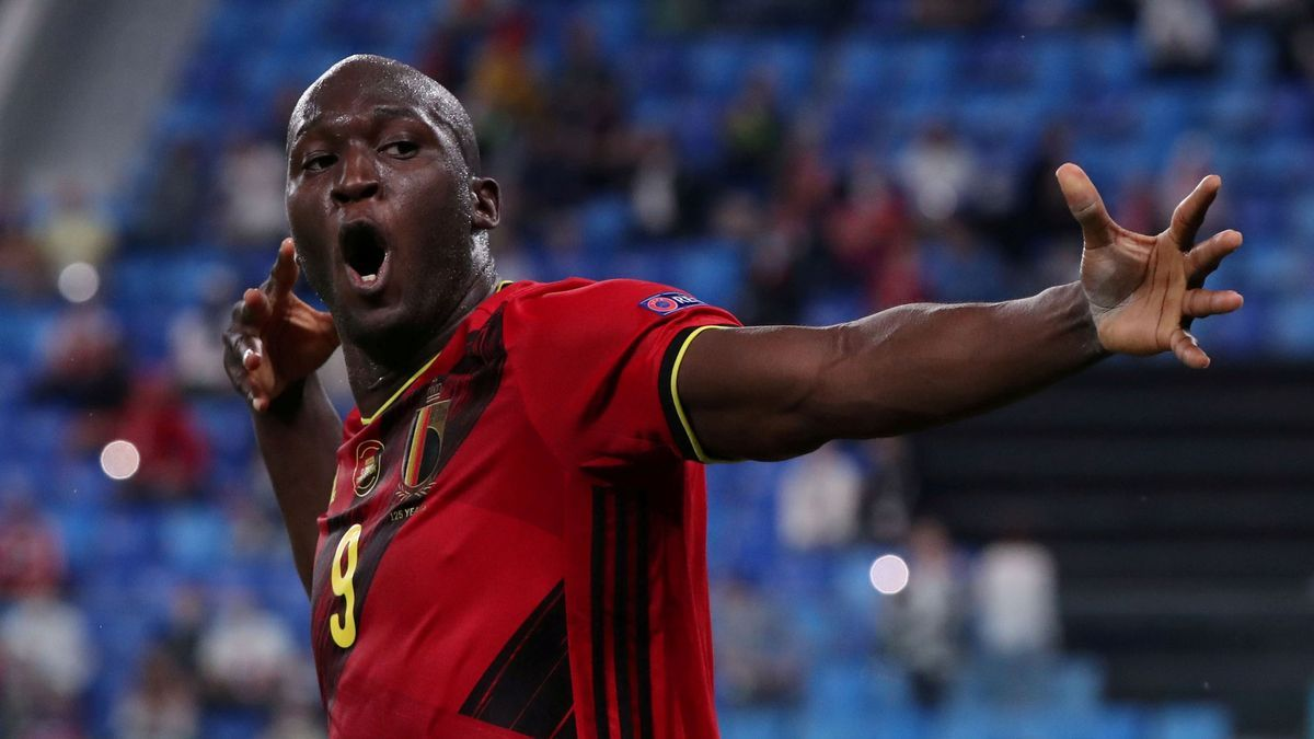 Una imagen de Romeu Lukaku con Bélgica.