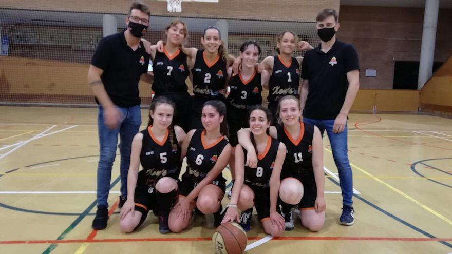El júnior femení del CB Castelló primeres de grup