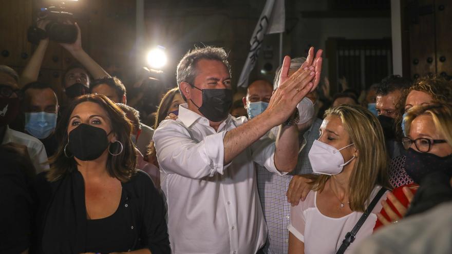 Contundente victoria de Juan Espadas frente a Susana Díaz en las primarias del PSOE andaluz