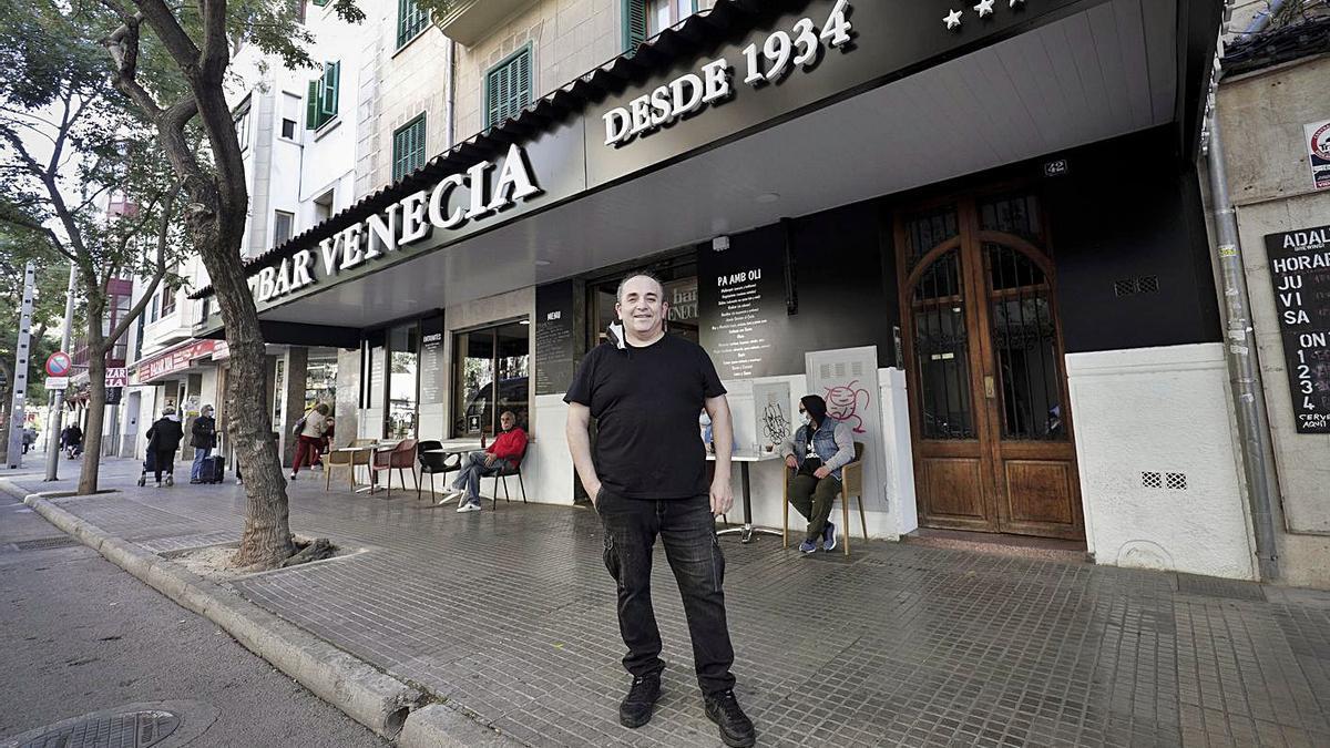 Ramón Sánchez cogió el relevo de su tío en el Venecia tras trabajar con él desde los 12 años.