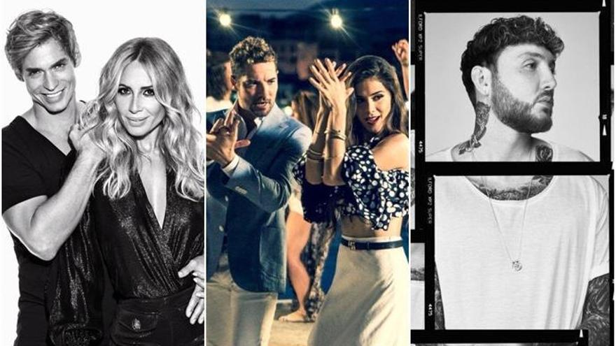 Carlos Baute, Marta Sánchez y James Arthur se suman a David Bisbal y Greeicy como invitados de 'OT 2018'