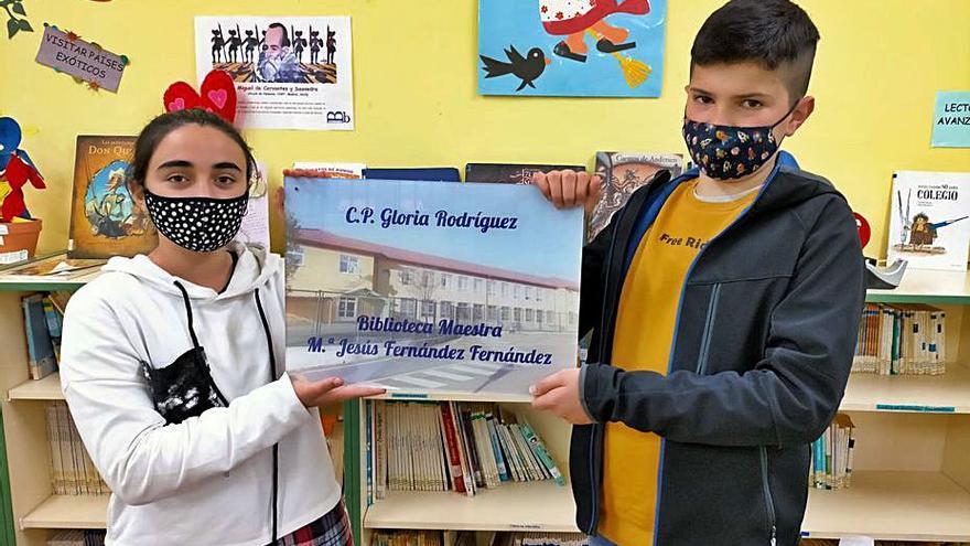 La biblioteca del colegio de Soto recordará a una maestra fallecida