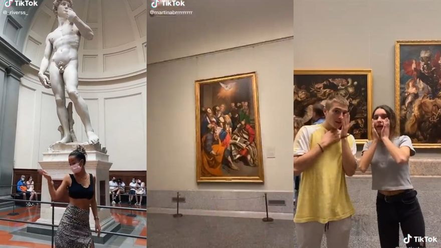 """División en las redes por los """"tiktoks"""" en el Museo del Prado"""