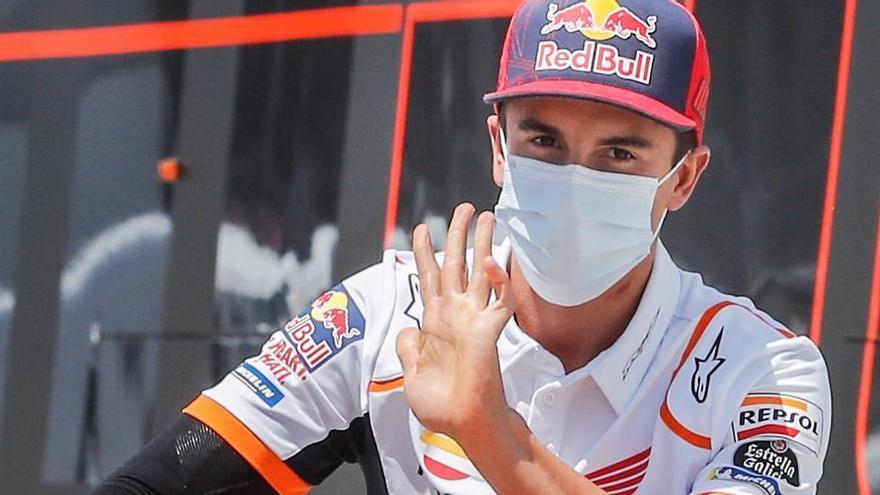 Marc Márquez se complica la carrera de Brno al ser operado por segunda vez del brazo